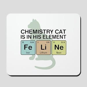 Chemistry Cat Mousepad
