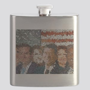 Conservative Americans Flask