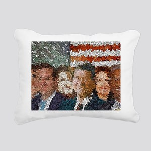 Conservative Americans Rectangular Canvas Pillow