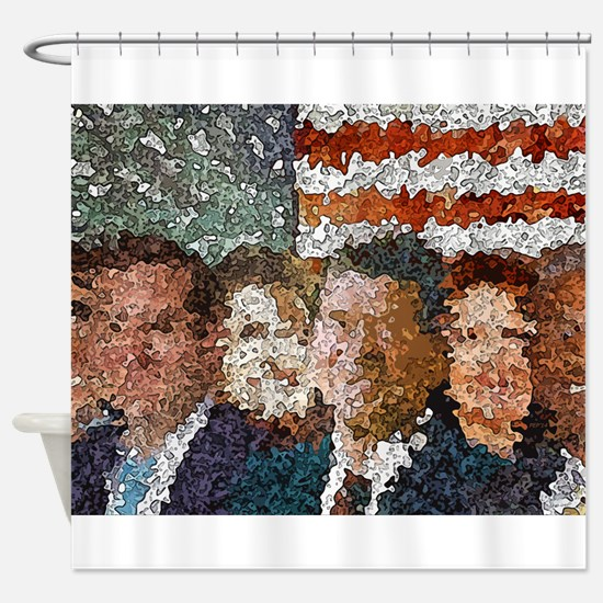 Conservative Americans Shower Curtain