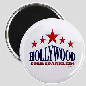 Hollywood Star Sparkled Magnet