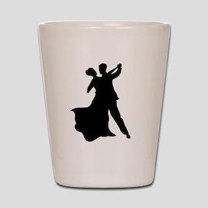 Dancing Couple Shot Glass