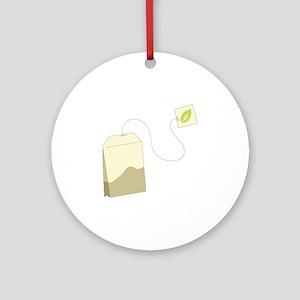 Tea Bag Ornament (Round)