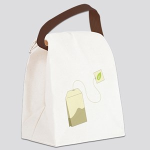 Tea Bag Canvas Lunch Bag
