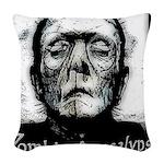 Zombie Apocalypse Woven Throw Pillow