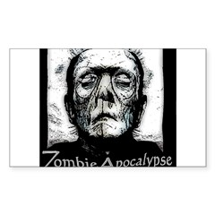 Zombie Apocalypse Decal