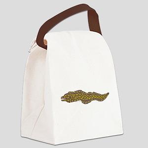 Jewel Moray Eel c Canvas Lunch Bag