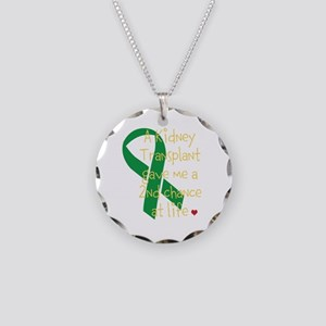 2nd Chance At Life (Kidney) Necklace Circle Charm