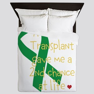 2nd Chance At Life (Kidney) Queen Duvet
