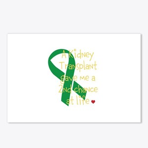 2nd Chance At Life (Kidney) Postcards (Package of