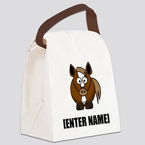 Horse Personalize It! Canvas Lunch Bag