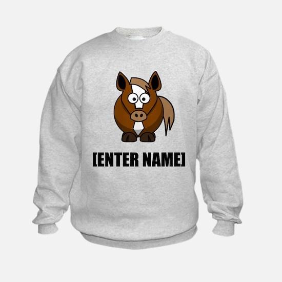 Horse Personalize It! Sweatshirt