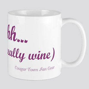 Shhh... this is really wine Stein Mug