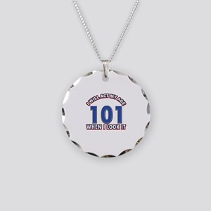 Will act 101 when i feel it Necklace Circle Charm