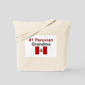 Peru #1 Grandma Tote Bag