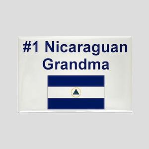 Nicaragua #1 Grandma Rectangle Magnet