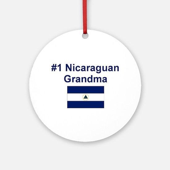 Nicaragua #1 Grandma Keepsake Ornament