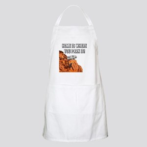 Home Is Where You Park It - Fifth Wheel Apron