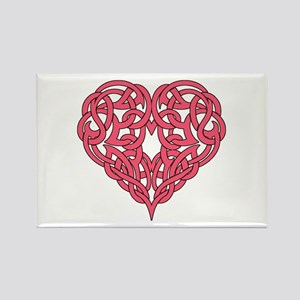 CELTIC HEART-PINK Magnets