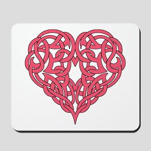 CELTIC HEART-PINK Mousepad