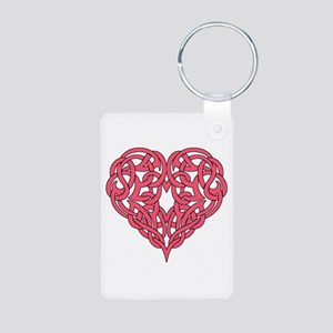 CELTIC HEART-PINK Keychains