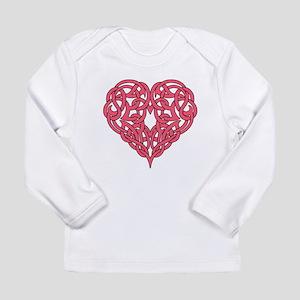 CELTIC HEART-PINK Long Sleeve T-Shirt