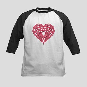 CELTIC HEART-PINK Baseball Jersey