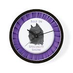 Brussels Griffon Best In Specialty Show Wall Clock
