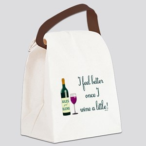 I FEEL BETTER.. Canvas Lunch Bag