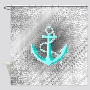 Anchor, Shower Curtain