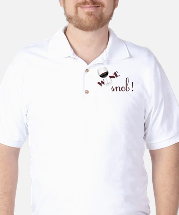 WINE SNOB Golf Shirt