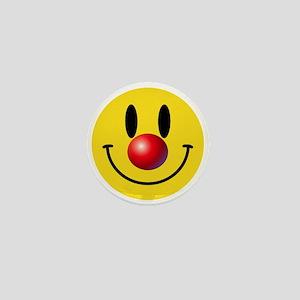 Clown Face Mini Button