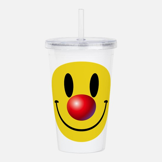 Clown Face Acrylic Double-wall Tumbler