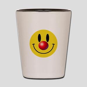 Clown Face Shot Glass