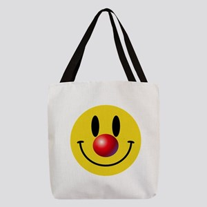 Clown Face Polyester Tote Bag