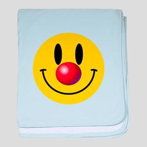 Clown Face baby blanket