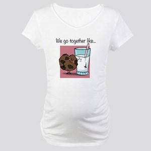 Cookies and Milk Maternity T-Shirt