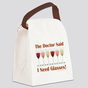 THE DOCTOR SAID... Canvas Lunch Bag