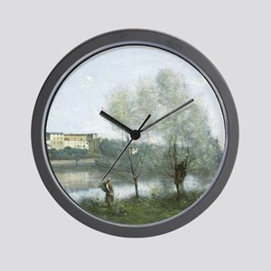 Jean-Baptiste-Camille Corot - Ville-d'A Wall Clock