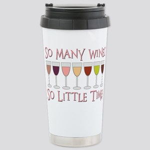 SO MANY WINES... Stainless Steel Travel Mug