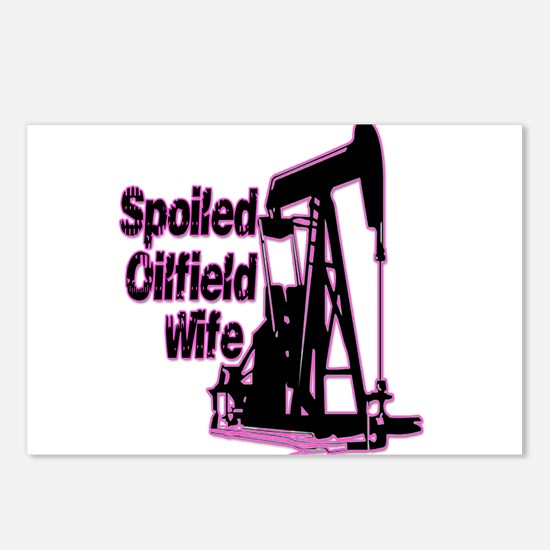 Spoiled Oilfield Wife Jewelry Postcards (Package o