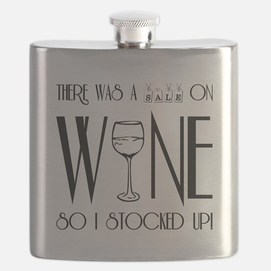 SALE ON WINE Flask