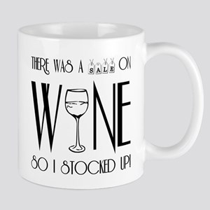 SALE ON WINE Mug