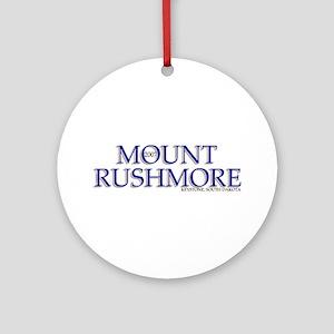 Rushmore Ornament (Round)