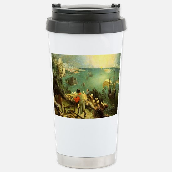 Fall of Icarus Stainless Steel Travel Mug