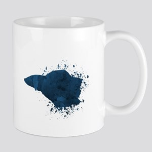 "siamese fighting fish ""betta splendens"" Mugs"