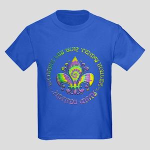 Fleur de Laissez Kids Dark T-Shirt