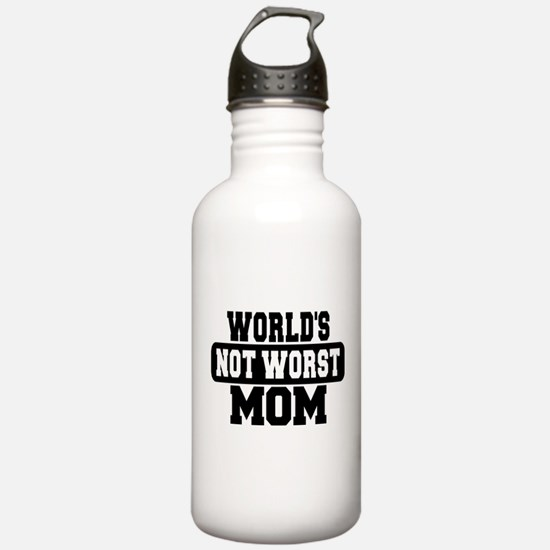 Worlds Not Worst Mom Water Bottle