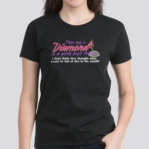 Diamonds are a girl's best fr Women's Dark T-Shirt