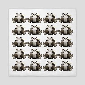 Lots Of Lazy Pandas! Queen Duvet